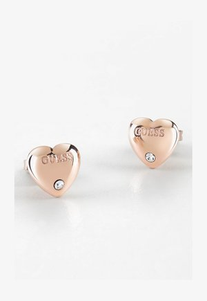 GUESS IS FOR LOVERS - Earrings - rose goldenfarbe
