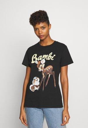 CLASSIC DISNEY - Print T-shirt - black
