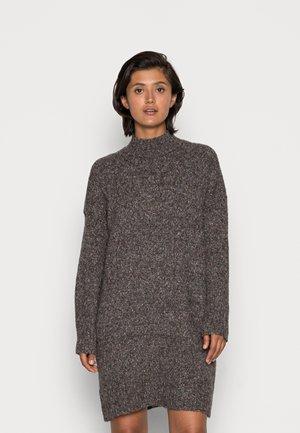 ONLTATA DRESS - Jumper dress - dark grey melange