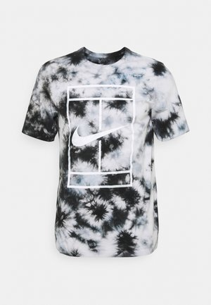 TEE HERITAGE DYE - T-Shirt print - white/black