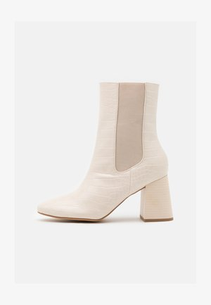 HIGH SHAFT CHELSEA BOOT - Classic ankle boots - cream