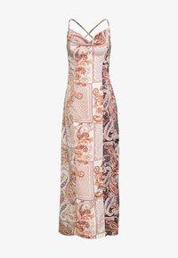 Missguided Petite - PAISLEY NECK CAMI DRESS - Maxi dress - rust - 2