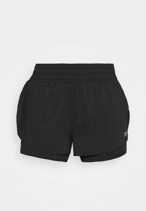 RUN SHORT - Sportovní kraťasy - black