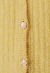 Gestuz - ALPIA PUFF CARDIGAN - Cardigan - dried moss melange - 5