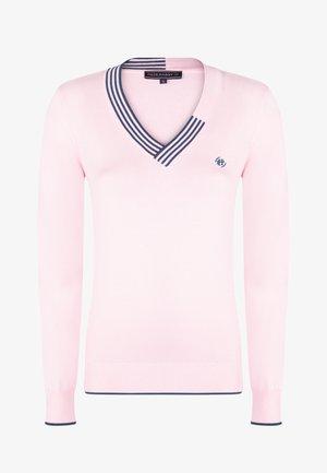 Jumper - pink navy