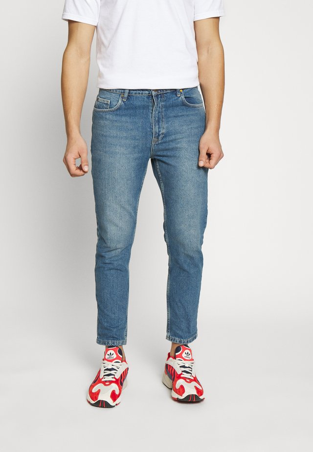 STONEWASHED SKATE FIT - Slim fit jeans - blue denim