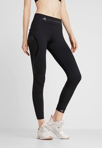 adidas by Stella McCartney - ESSENTIALS SPORT WORKOUT LEGGINGS - Legging - black - 0