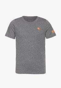 Abercrombie & Fitch - FLEX ITEM  - Print T-shirt - grey - 0