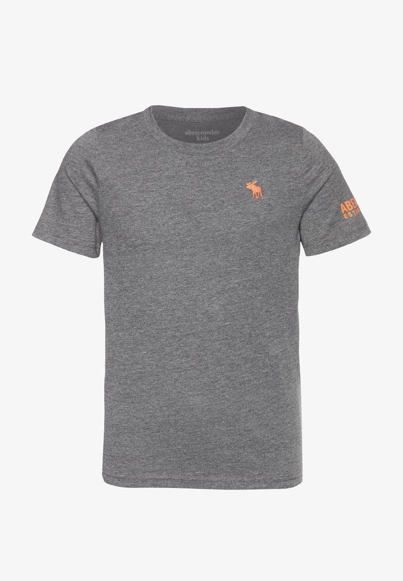 Abercrombie & Fitch - FLEX ITEM  - Print T-shirt - grey