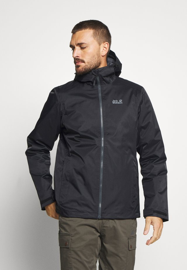 FROSTY MORNING - Chaqueta outdoor - black