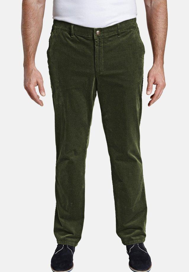 CLYDE - Pantalon classique - grün