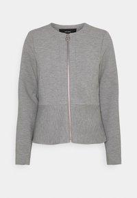 Vero Moda - VMEVERSIENNA SHORT JACKET - Blazer - light grey melange - 4
