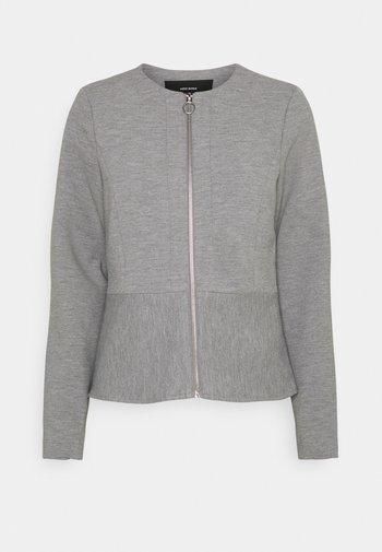 VMEVERSIENNA SHORT JACKET - Blazer - light grey melange