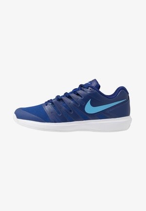 AIR ZOOM PRESTIGE CLAY - Tenisové boty na antuku - deep royal blue/coast/white