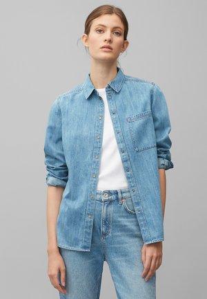 AUS REINER - Button-down blouse - light dress wash