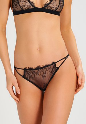LYRA THONG - Thong - black