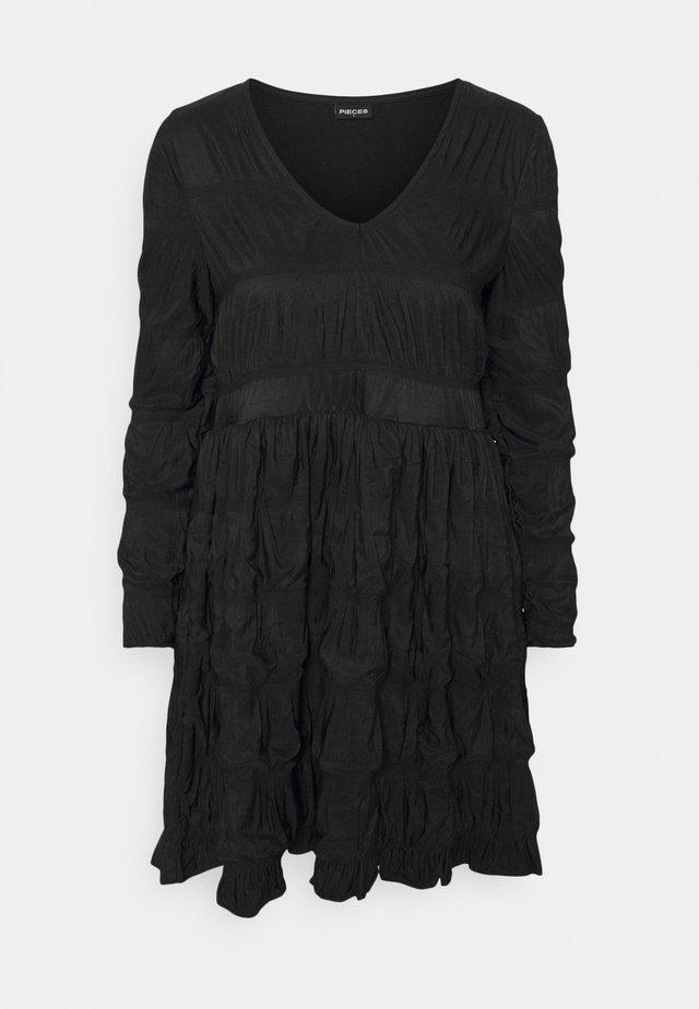 PCBORA DRESS  - Jersey dress - black