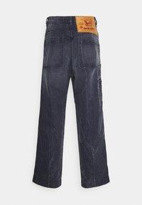 Diesel - D-FRANKY - Relaxed fit jeans - dark-blue denim - 1