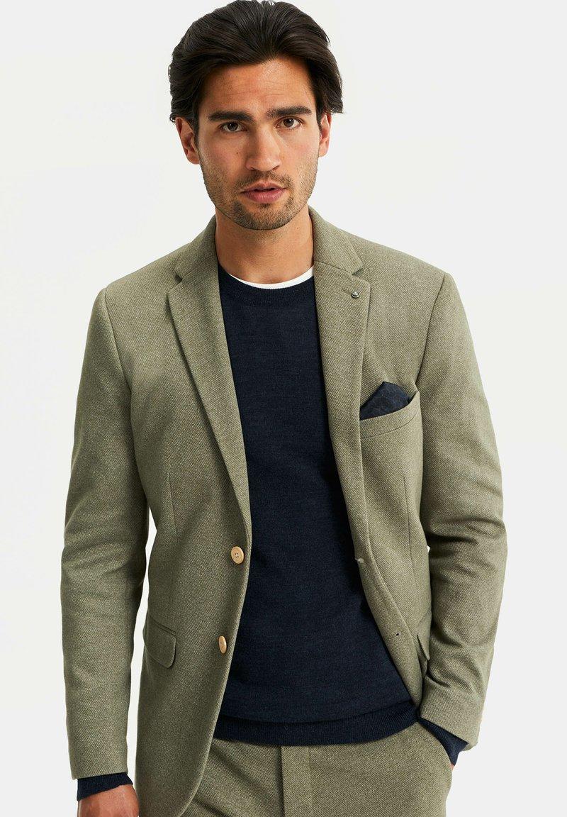 WE Fashion - HEREN SLIM FIT  - Giacca elegante - olive green