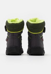 Kamik - STANCE UNISEX - Winter boots - charcoal/lime - 2