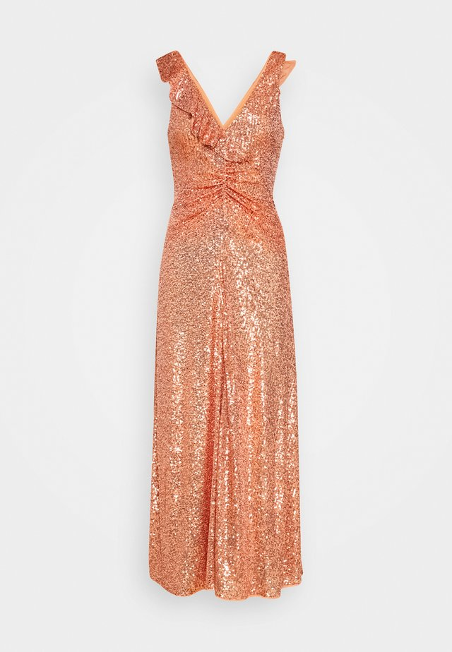AUSTRALE DRESS - Robe de soirée - terracotta