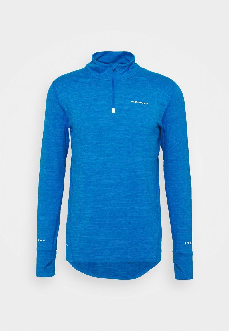 Endurance - TUNE MELANGE MIDLAYER - T-shirt de sport - directoire blue