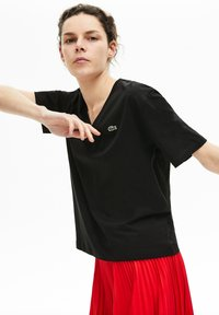 Lacoste - Basic T-shirt - anthracite - 1