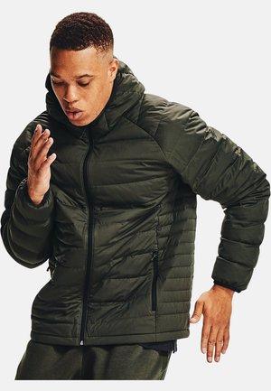 Winter jacket - baroque green