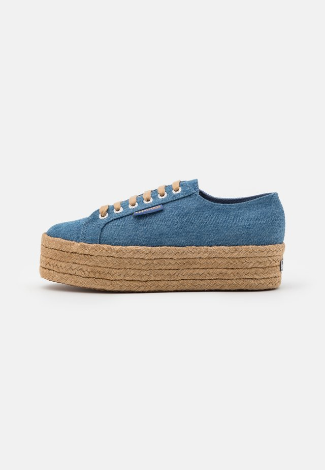 2790 - Espadrillot - mid blue/natural