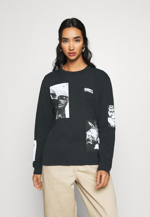 VISUAL INDUSTRIES - Long sleeved top - off black