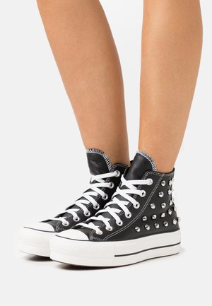 CHUCK TAYLOR ALL STAR LIFT - High-top trainers - black/white
