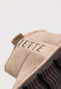JETTE - Kotníkové boty - taupe - 2