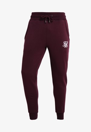 MUSCLE FIT - Pantaloni sportivi - burgundy