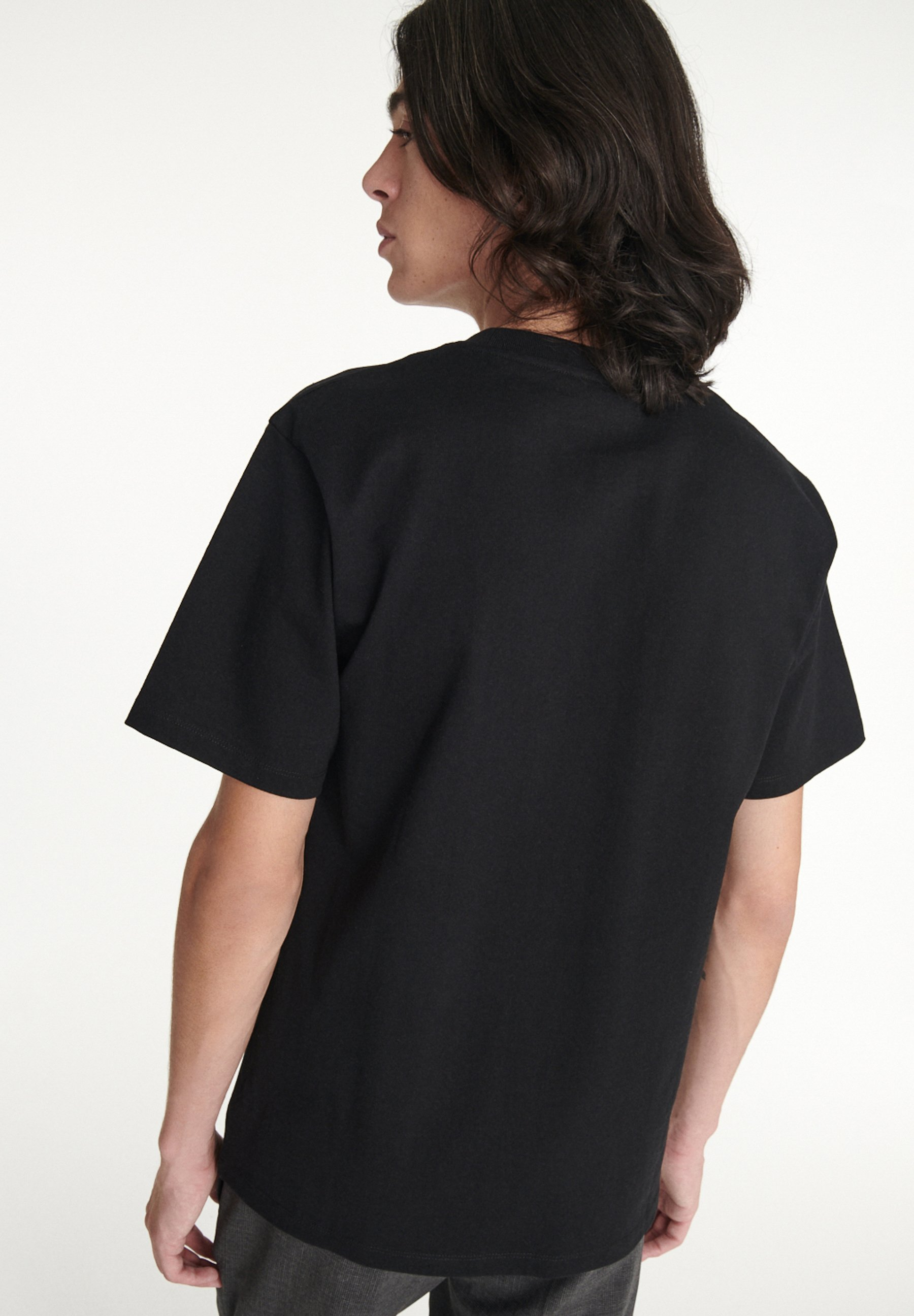 Homme À ŒILLET CONTRASTÉ - T-shirt basique