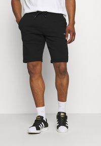 Calvin Klein - SMALL LOGO - Shorts - black - 0
