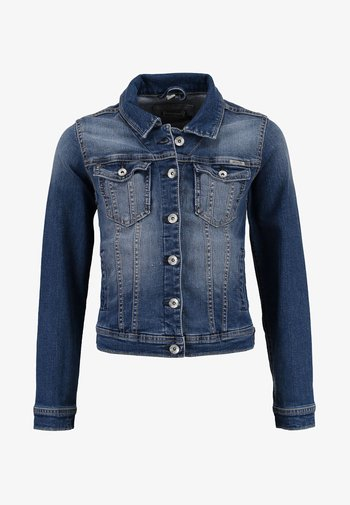 Denim jacket - intens blue