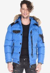 Cipo & Baxx - Winter jacket - blue - 0