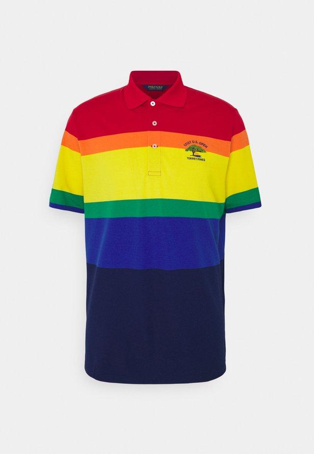 Polo shirt - bright royal multi