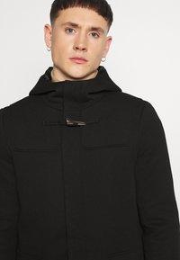 Only & Sons - ONSJACOB KING DUFFLE COAT - Classic coat - black - 3