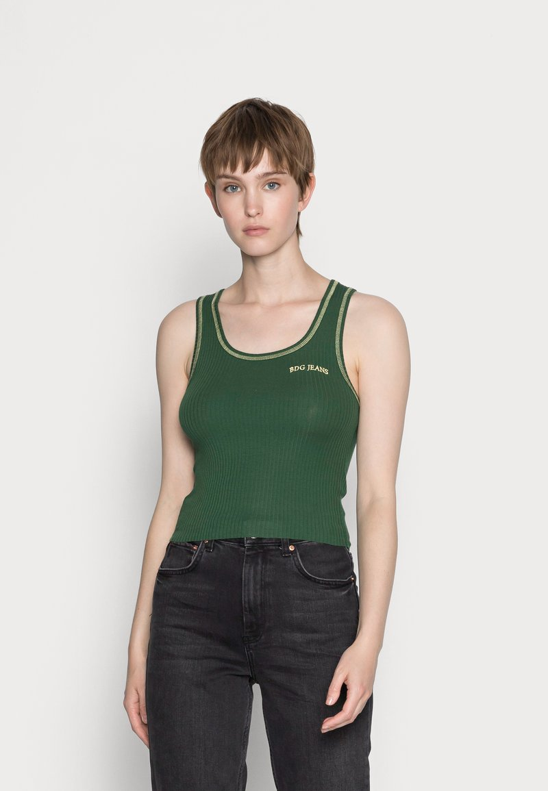 BDG Urban Outfitters - SCOOP TANK - Topper - green