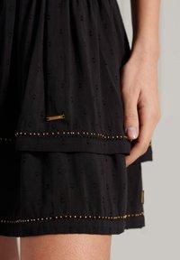 Superdry - AMEERA - A-line skirt - black - 2