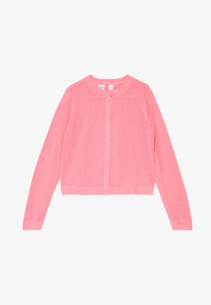 GIRL EASTER  - Cardigan - neon impulsive pink