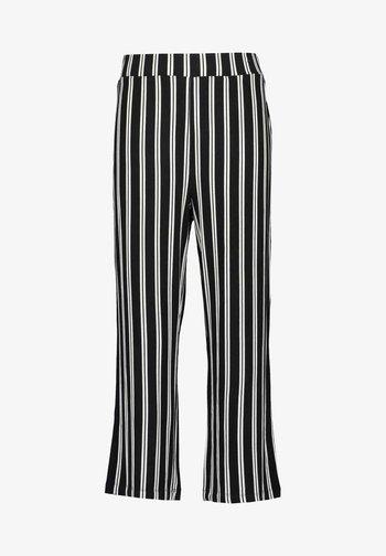 FINALLY BLUE - Trousers - schwarz