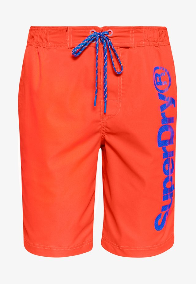 CLASSIC - Swimming shorts - volcanic orange
