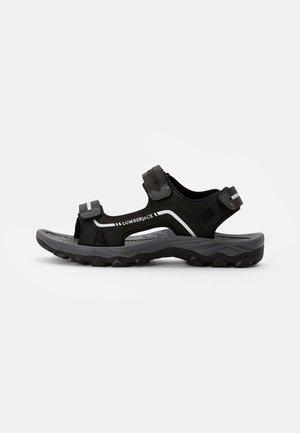 LAGGUN - Chodecké sandály - black