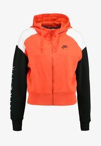 team orange/white/black