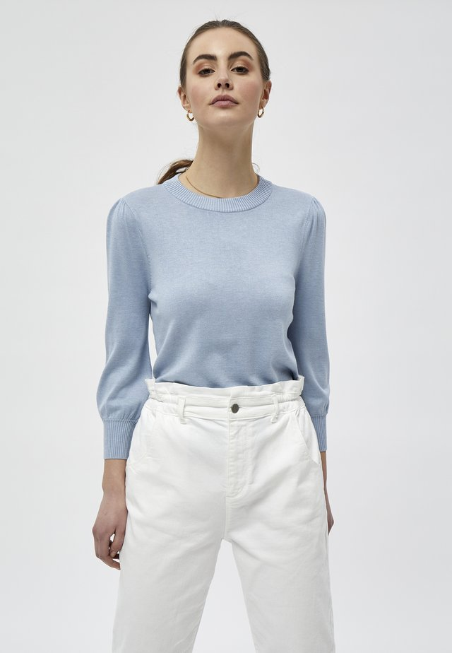 MERSIN - Pullover - dusty blue melange