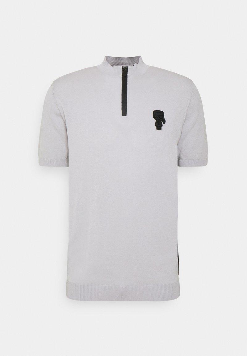 KARL LAGERFELD - Print T-shirt - dark grey