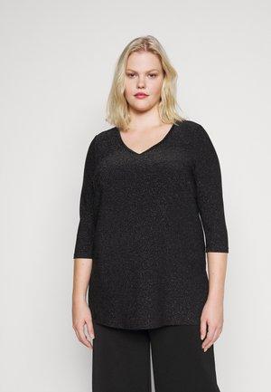 JRSAKINA - Basic T-shirt - black