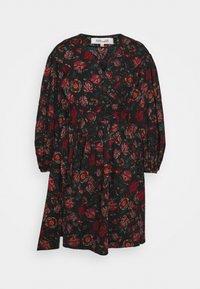 Diane von Furstenberg - BARBE DRESS - Day dress - punk medium black - 4